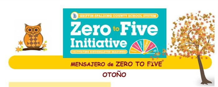 Zero to Five Flyer heading